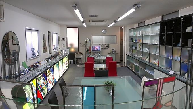 GLASS&MIRROR ショールーム