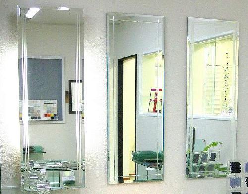 シンプル洗面鏡 FLM-S40110(左側)1